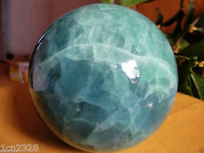 AAA+++ 80MM Glow In The Dark Stone crystal Fluorite sphere ball Hot