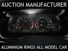 Toyota Corolla E10 1992-1997 Chrome Cluster Gauge Dashboard Rings Speedo Trim x4