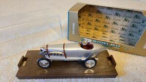 "BRUMM 1:43  R73 1911 MERCEDES BLITZEN BENZ RACING CAR WITH BOX & CASE ""NICE"""
