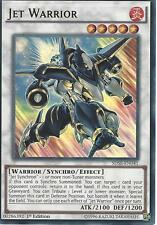 3 X YU-GI-OH CARD: JET WARRIOR - ULTRA RARE - SDSE-EN041 - 1st EDITION