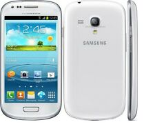 New Original Unlocked Samsung Galaxy S3 Mini I8190 8GB Marble White Smartphone