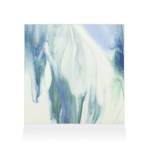 Home Decor Wall Sign Blue and White Sea Style G Abstract Art Picture Frame