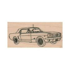 NEW Ford Mustang Convertible RUBBER STAMP, Muscle Car Stamp, Sports Car Stamp