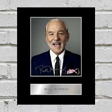 Bill Murray Signed Mounted Photo Display