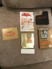 The Legend of Zelda NES complete with box