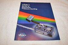 METAL DETECTING BOOK ~ WHITE'S ~ GUIDE TO ELECTRONIC TREASURE HUNTING ~ NEW