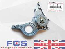 NEW GENUINE TOYOTA STARLET COROLLA PASEO OIL PUMP ASSEMBLY 15100-11071