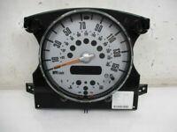 Compteur de Vitesse Instrument km/H / Mph Mini Cabriolet (R52) COOPER S 6978318