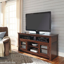 Ashley Entertainment Large Tv Stand Media Console Storage Cabinet Home Furniture
