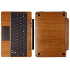 Skinomi Light Wood Skin Cover for Asus EEE Pad Transformer Prime TF201 Keyboard