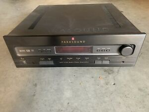 Parasound AVC 2500 Audio Video Controller Dolby Digital (Working - As Is)