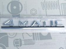 Original Mercedes Schriftzug / Typzeichen / Typkennzeichen W124 4Matic NEU!