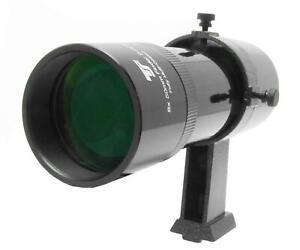 TS-Optics Sucher 8x50 geradsichtig, schwarz u mit justierbarem Halter, TSSU850Gs