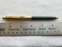 Selling Used Vintage Paper Mate Slim Ball Point Pen/OD Green Barrel Circa 1960's