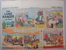 Lone Ranger Sunday Page by Fran Striker and Charles Flanders from 5/31/1942
