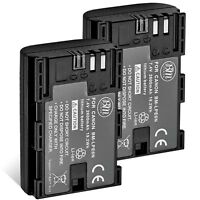 BM 2 LP-E6N Batteries for Canon EOS R, EOS 60D, EOS 70D, EOS 80D, C700 XC10 XC15