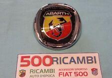 FIAT 500 126 G.PUNTO BRAVO LOGO MASCHERINA STEMMA ABARTH FREGIO CALANDRA DA 95mm