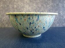 Vintage Texas Ware Multi Color Confetti Splatter Mixing Bowl #118