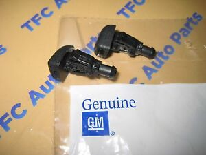 2 Windshield Washer Spray Nozzles Colorado Canyon Cobalt Trailblazer OEM New