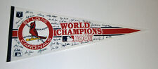 1987 St. Louis Cardinals World Series Champs pennant Ozzie Smith Willie McGee