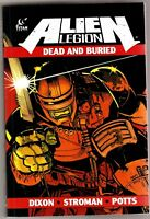 ALIEN LEGION Dead and Buried TITAN COMICS TPB #1-1ST 2014 NM FREE SHIPPING!