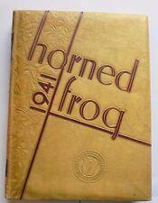 Texas Christian University 1941 Horned Frog Yearbook