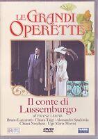 LE GRANDI OPERETTE Il Conte di Lussemburgo (1998) DVD ORIGINALE NUOVO SIGILLATO