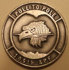109th Ariel Port Flt Arctic Antarctic Pole-Pole LC-130H Air Force Challenge Coin