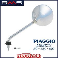 SPECCHIETTO SINISTRO SX CROMATO PER PIAGGIO LIBERTY 50 125 150 MOC RST 2004 2010