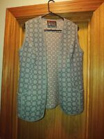 Trefriw Woollen Mills Ltd Wales 100% Pure New Wool vest and skirt set. Size Med