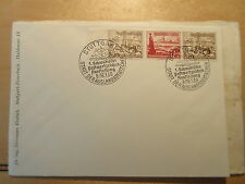 GERMANY  Michel  W132 and W134   on covers  CANCELLED Cat 32 Euros  Ships