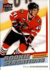 2008-09 Ultra Rookie Sensations #RS13 Niklas Hjalmarsson Blackhawks