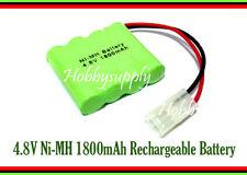 4.8V AA Ni-MH 1800mAh 4-Cell Battery Pack w/. Tamiya Plug for Hobby RC Car Boat