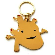 HEART OF GOLD KEYCHAIN BY I HEART GUTS