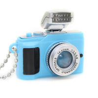 Cute Mini Toy Camera Style Charm Keychain With Flash Light & Sound Effect Gifts