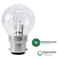 18w=25w BC (B22) Halógeno Ahorro De Energía Pelota Golf Transparente ( BELL