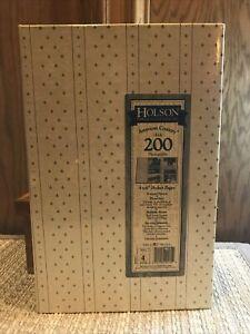 Holson Brown Vintage Tradition 3-Rings 300 Pockets Photo Album. Brand New....