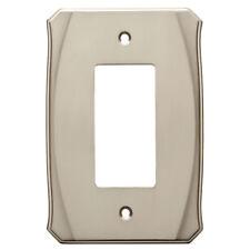 Decorator Wall Plate Nickel Brainerd W34474