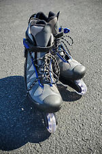 Rollerblades 2xS Men's Blue/Gray/Black 4 wheel in-line size 9