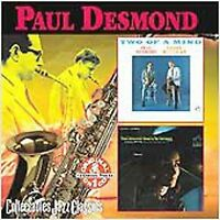 FREE US SHIP. on ANY 3+ CDs! NEW CD Paul Desmond: Glad to Be Unhappy / Two of a