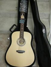 Luna Gypsy Muse acoustic dreadnought guitar-new'old stock' in hardshell case