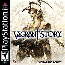 Vagrant Story Black Label PS1 Final Fantasy UNPLAYED COPY New Complete MINT