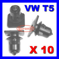 VW T5 TRANSPORTER ROOF TRIM STRIP PANEL LINING CLIPS INTERIOR X10