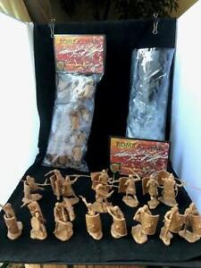 """Conte Collectables """"Roman Legionnares"""" 16 in 8 Poses (SILVER Color) Toy Soldiers"""