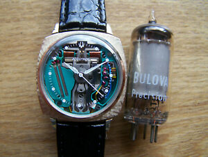 Accutron 214 10ct Gold Filled 1963 M3, SPACEVIEW Tuning Fork  rebuilt Great