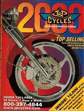 2000 J&P Cycles Parts Catalog Motorcycle Accessories Harley-Davidson Motorcycles