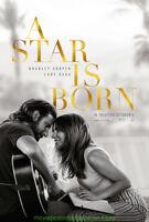 A STAR IS BORN MOVIE POSTER DS 27x40 LADY GAGA + ULTRA Depressing Romance Bonus!