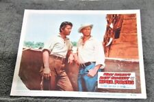 Davy Crockett and the River Pirates 1956 original lobby card