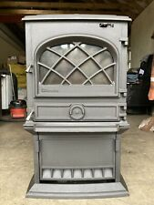 Dovre 500 Classic Cast Iron Multifuel Burning Stove Black Finish Rear Flue Exit