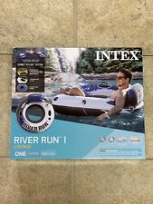 Intex River Run 1 Person Inflatable Floating Water Tube Raft *IN HAND*